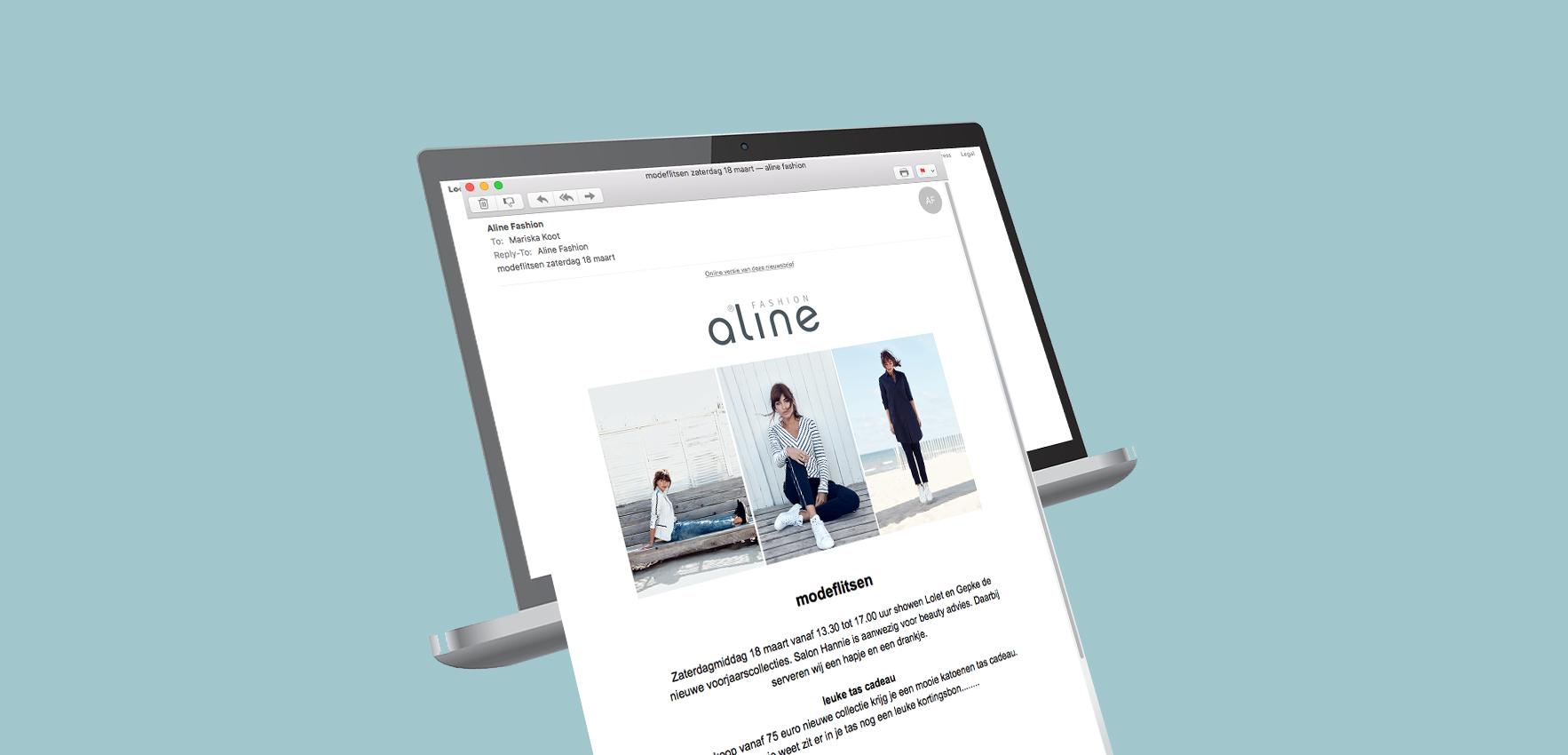 softwear mailing nieuwsbrief vb